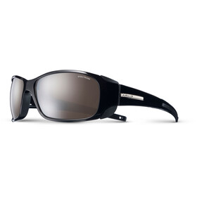 Julbo Montebianco Spectron 4 Sunglasses Shiny Black-Brown Flash Silver
